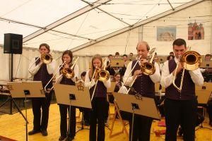 Blasmusik G Llersdorf Blasmusikfest 2009 0027
