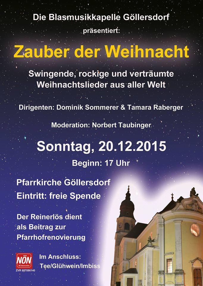 Zauber der Weihnacht 2015