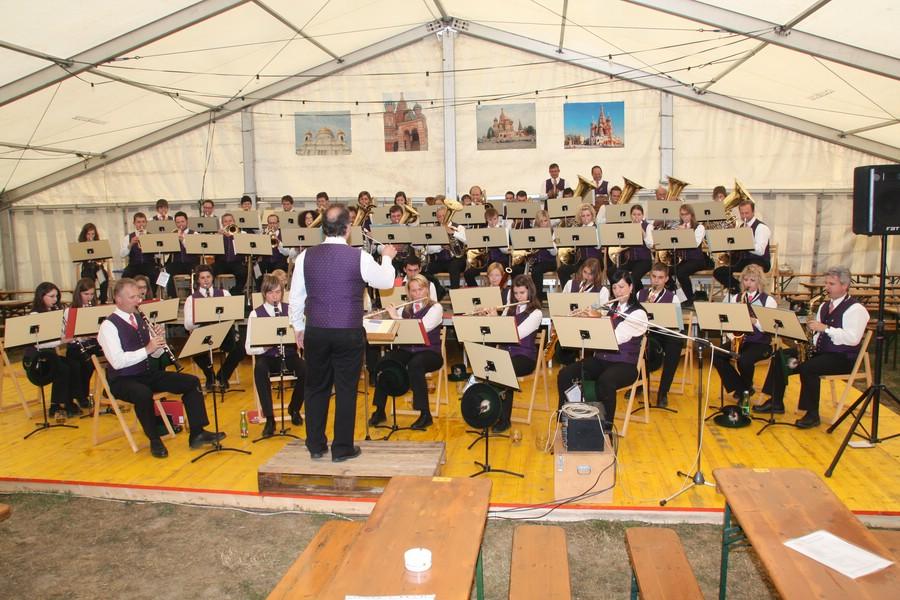 Blasmusik G Llersdorf Blasmusikfest 2009 0025